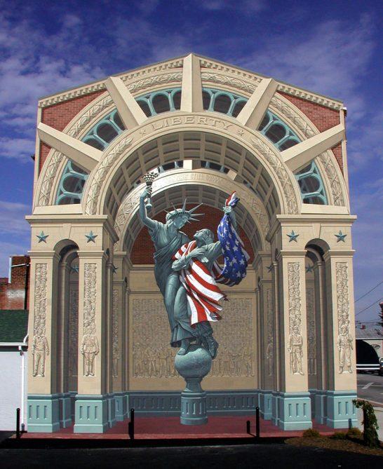 3d walls 29 546x669 Incredible 3D Painted Walls