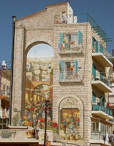 3d walls 36 Incredible 3D Painted Walls